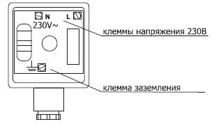 Seitron EVG NC принцип работы клапана