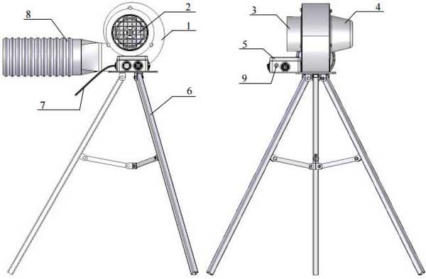 Внешний вид вытяжки-вентилятора ВСП-500М